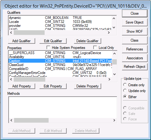 How can I identify a missing network driver in WinPE for use