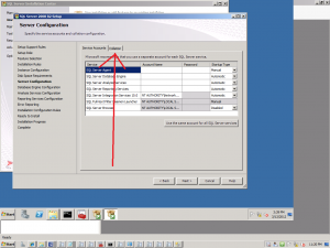 about to install Configuration Manager 2012 – check your SQL