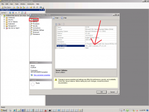 how to change database collation in sql server 2012