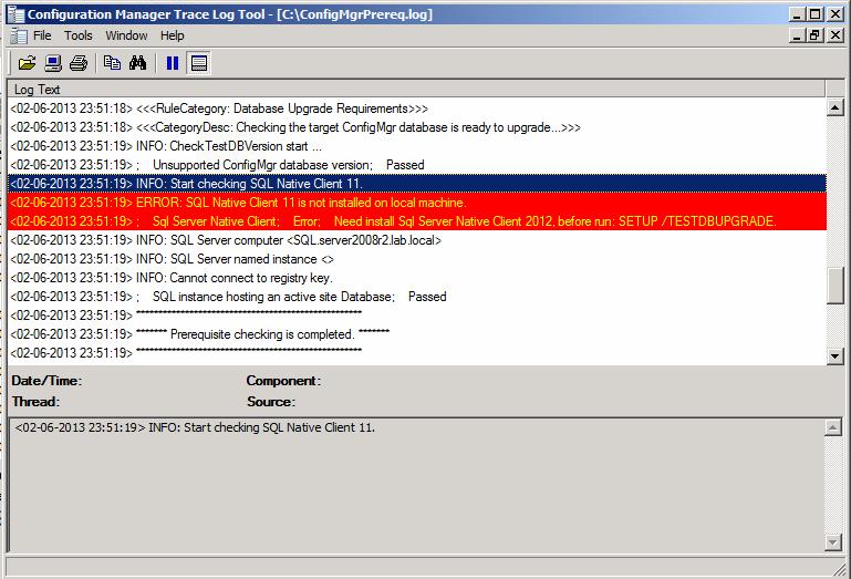 SQL Native Client error