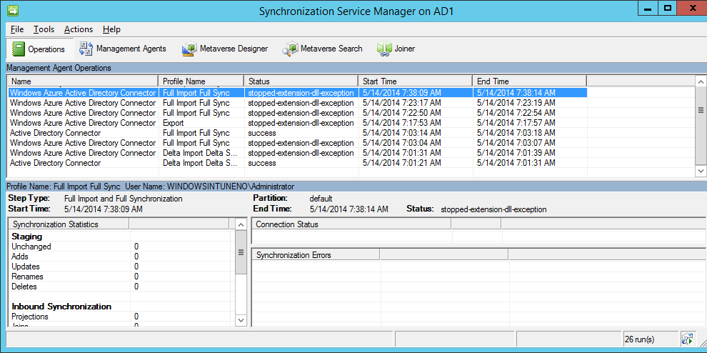 """What to do if you get dirsync errors like """"Azure Active"""