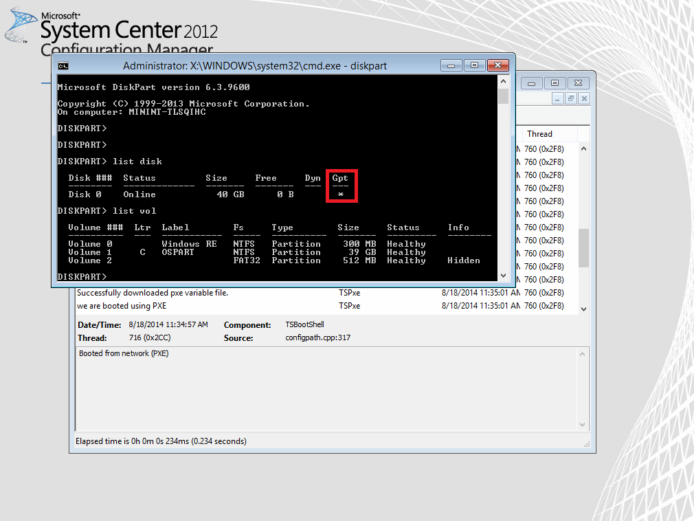 Why do I get a winload efi (Status: 0xc0000359 error) when using