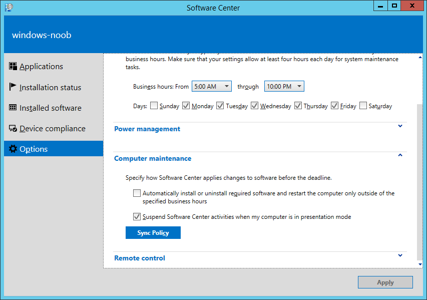 perraidis - Sccm software center stuck on installing activation