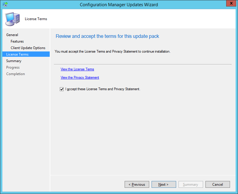 Update 1610 for System Center Configuration Manager (Current