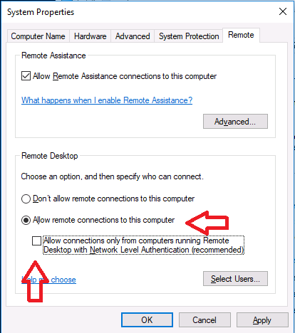How can I RDP to an Azure AD joined Windows 10 device