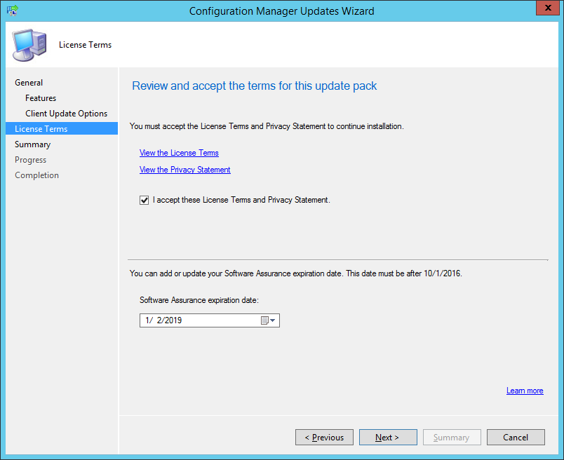 System Center Configuration Manager Technical Preview 1710 now