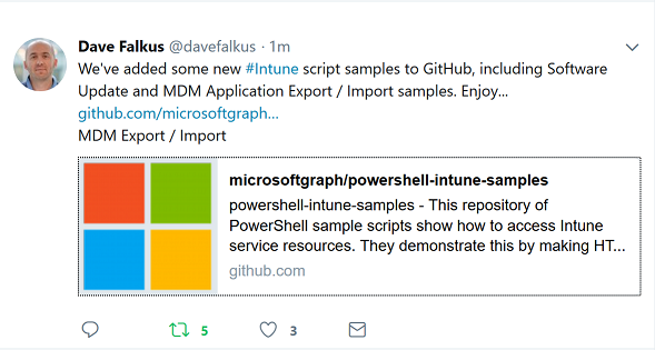 Microsoft releases PowerShell Intune samples on GitHub | just
