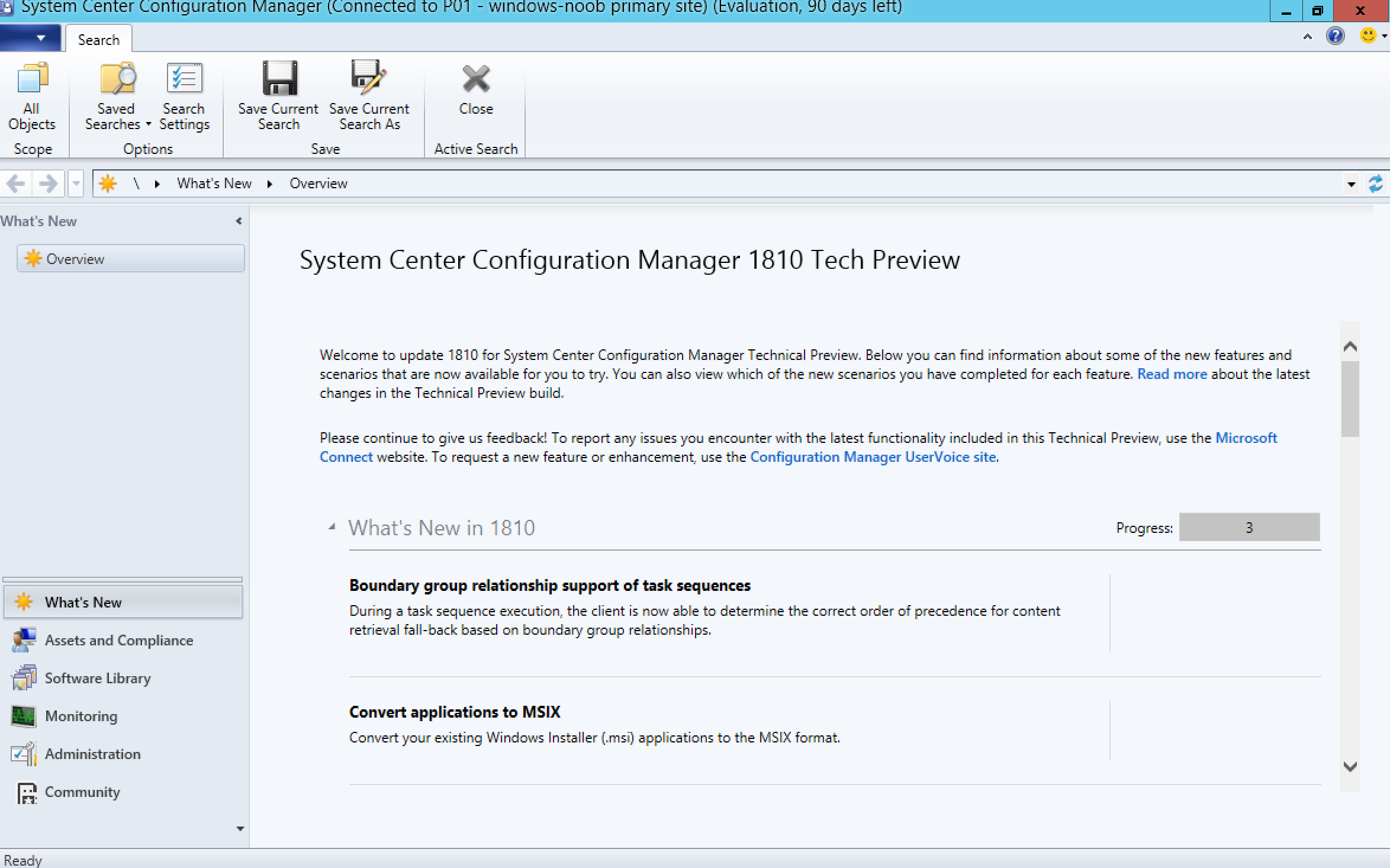 A quick look at System Center Configuration Manager Technical