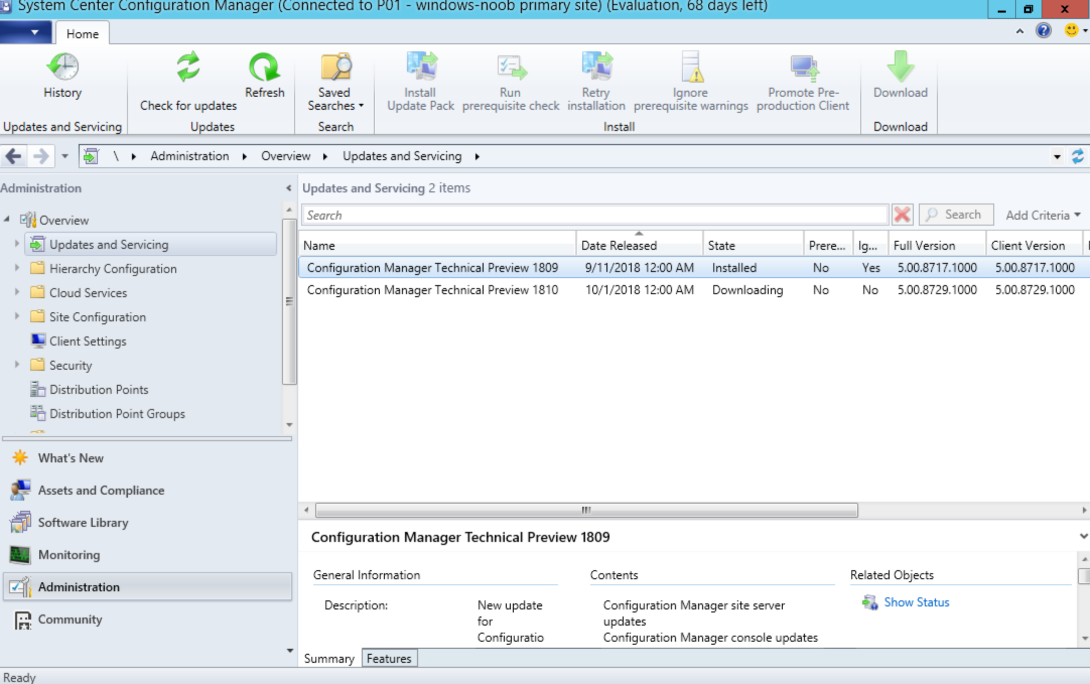 A quick look at System Center Configuration Manager