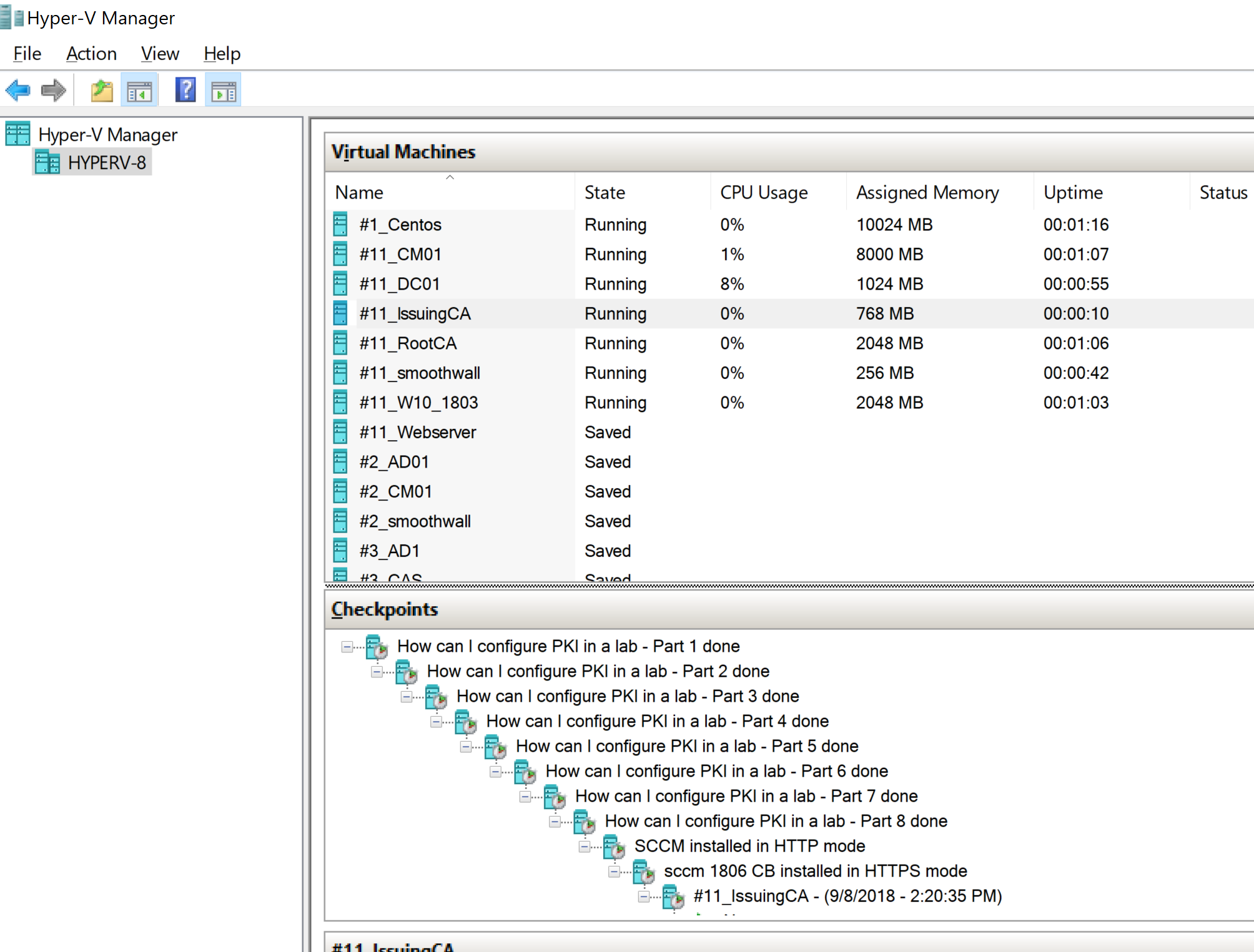 Introducing my new hyper-v lab – Lenovo ThinkPad P1 | just