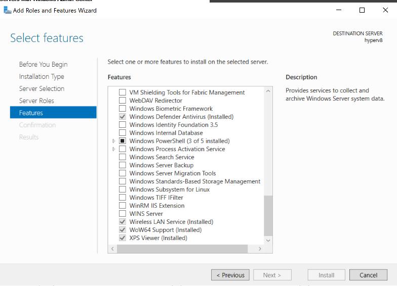 Installing Windows Server 2019 on a Lenovo P1 for data dedup