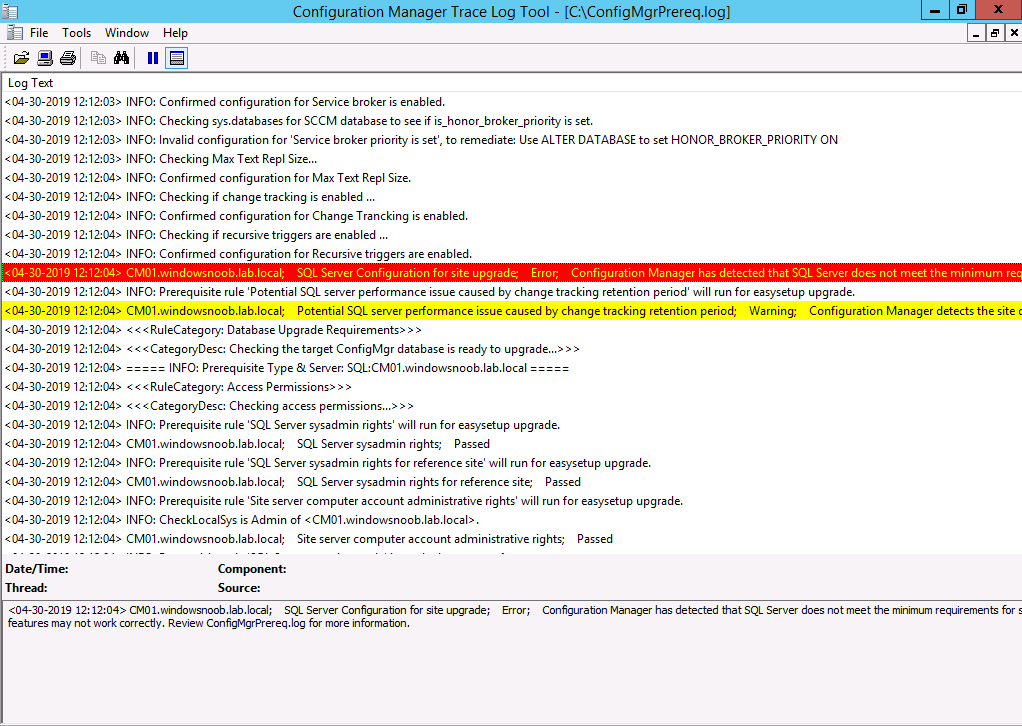 ConfigMgr log files help you when you least expect it, oh