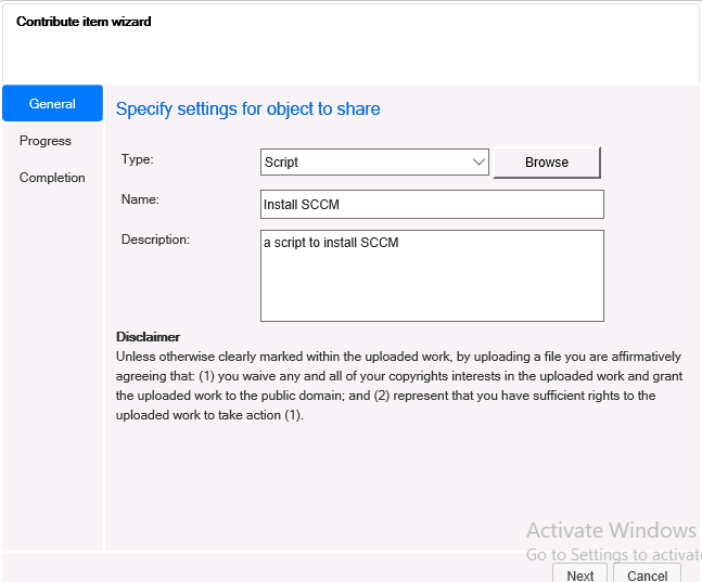 How can I use the new Community hub in SCCM Technical
