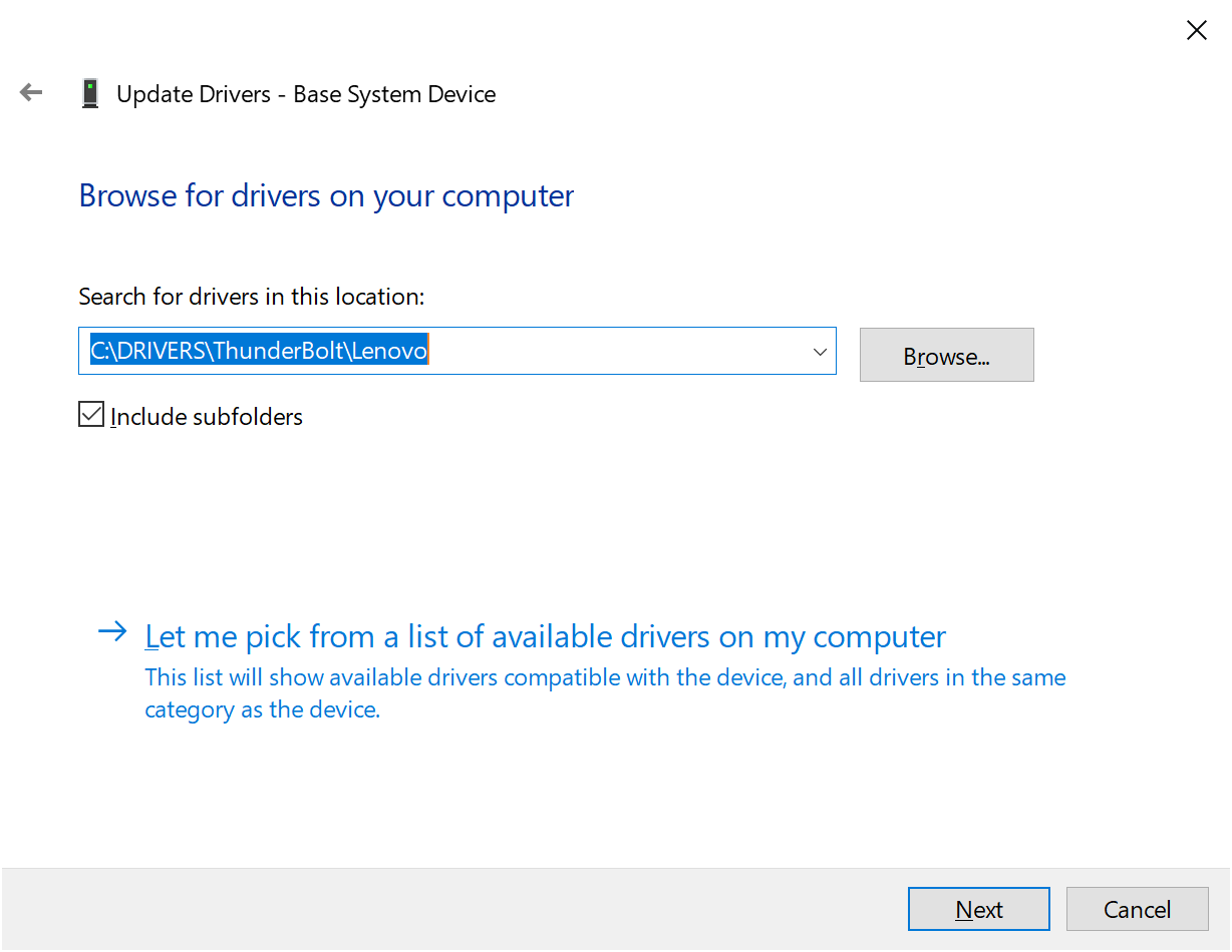 How to enable Thunderbolt on Windows Server 2019 | just another