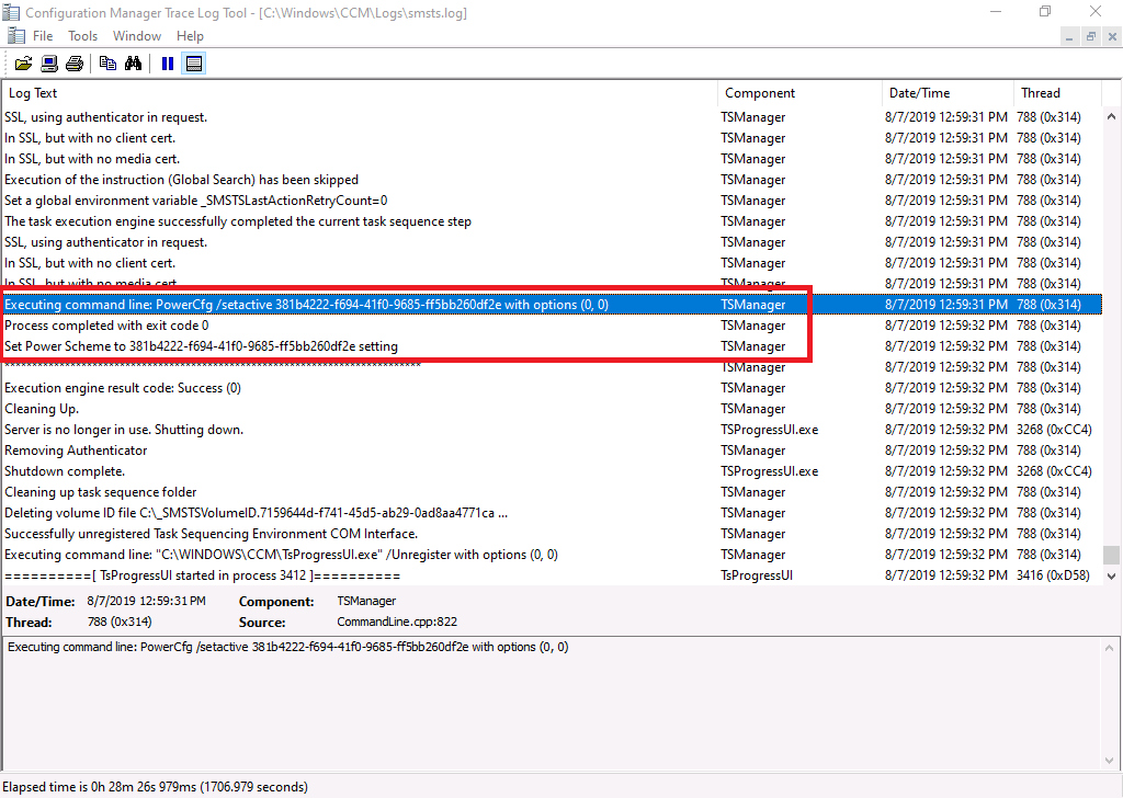 Sccm Task Sequence Logs